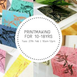 Printmaking 10-18